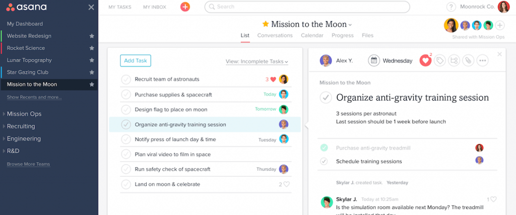 Easy task management app that helps employees stay organized.