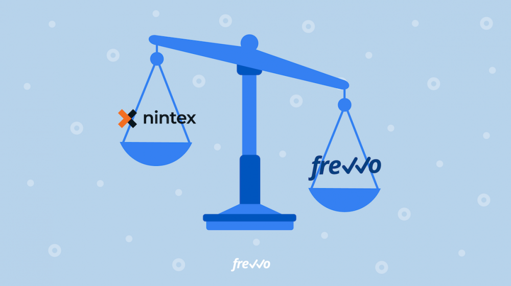 The Best Nintex Alternative: Nintex vs frevvo