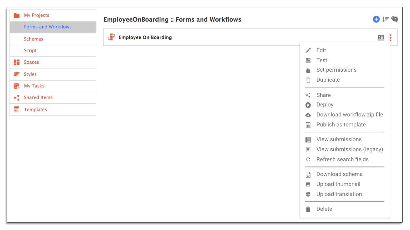 deploy employee onboarding workflow