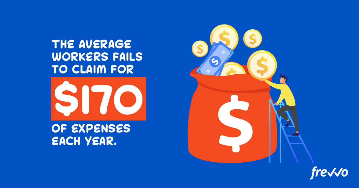 the average worker fails to claim for $170 of expenses each year