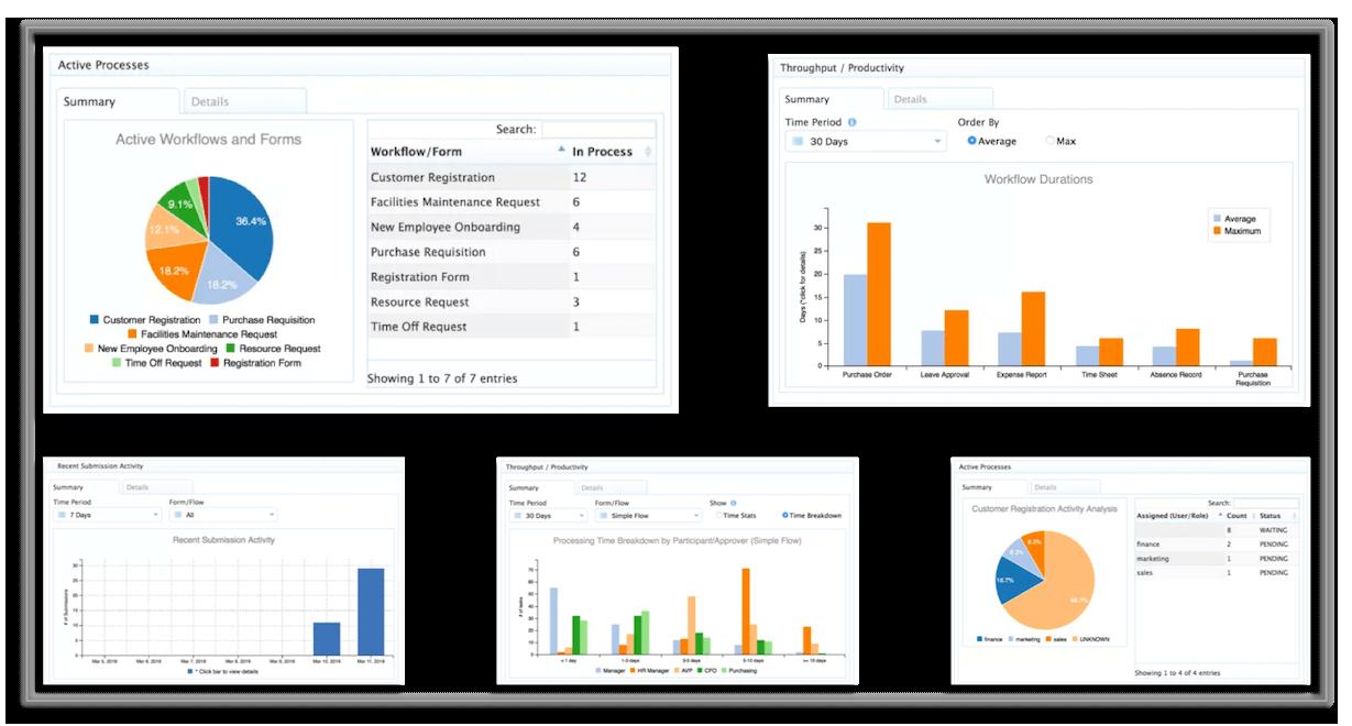 frevvo workflow reports
