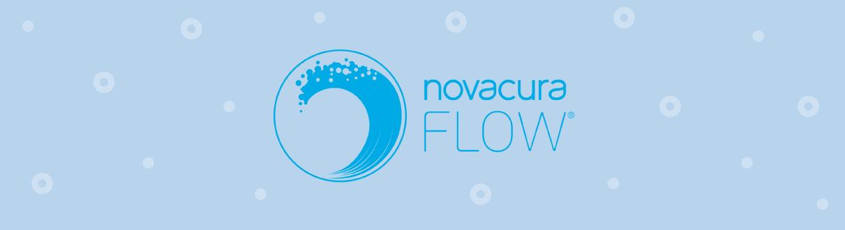 Novacura Flow logo