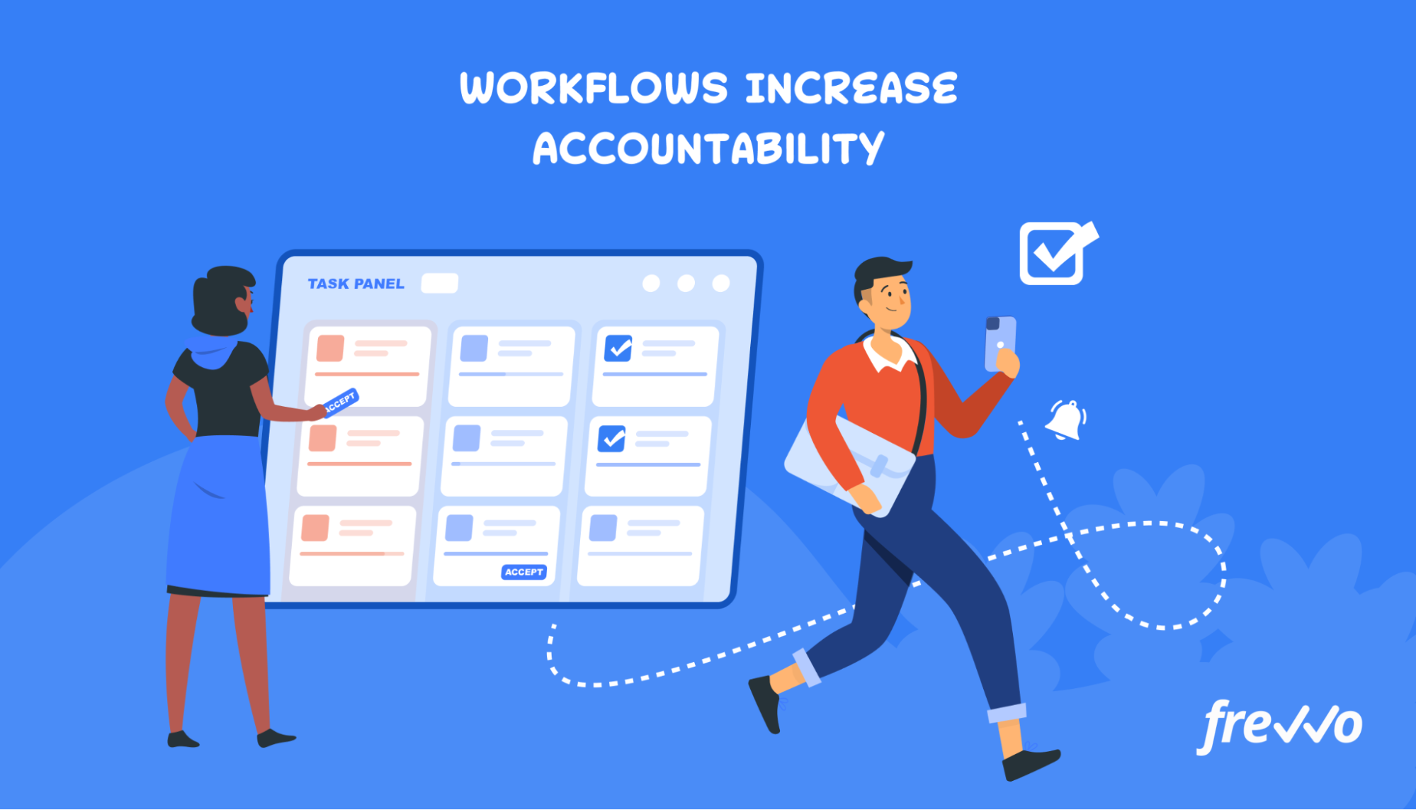 Automating workflows to increase accountability