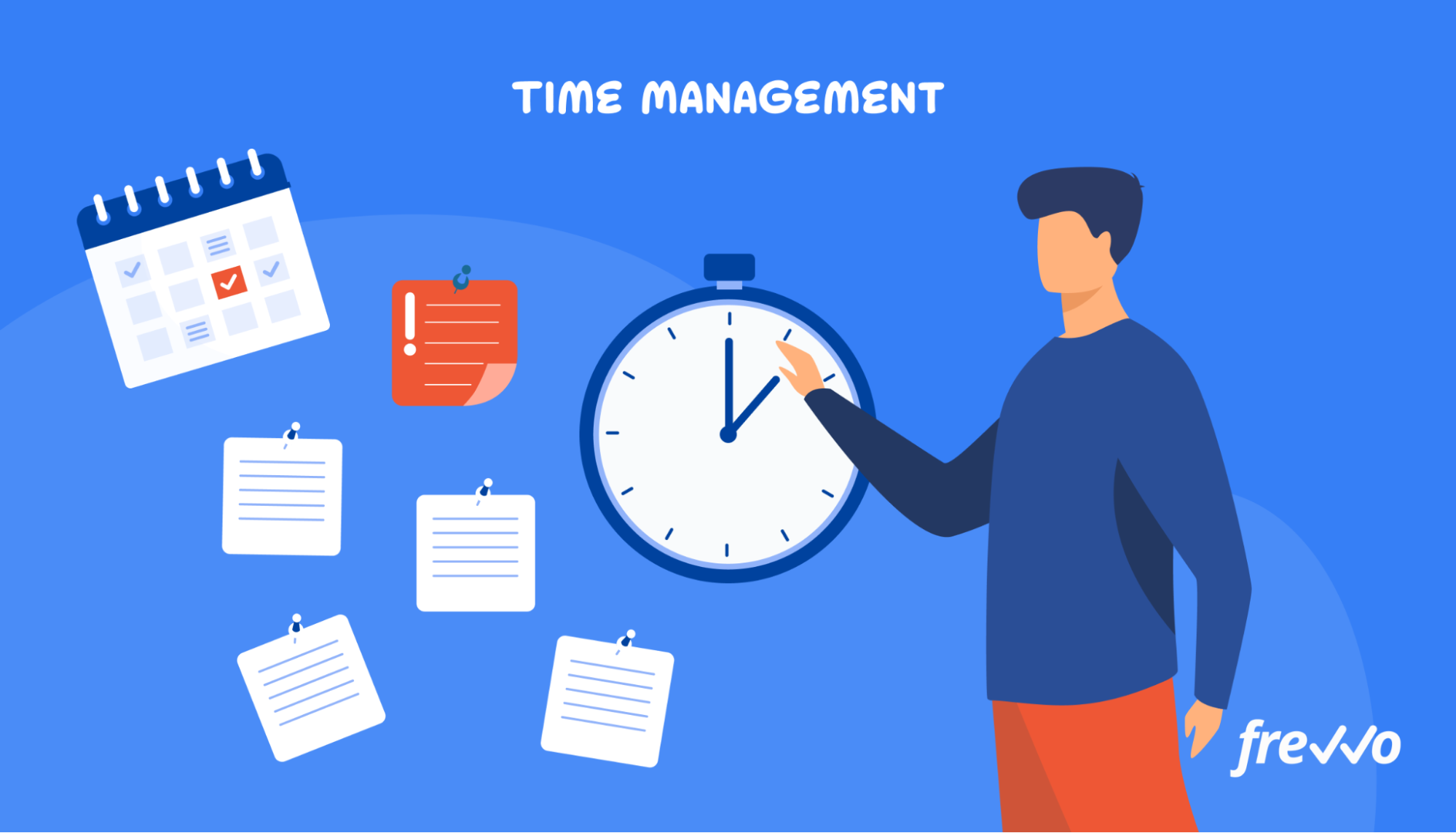 Tracking time with a time management app