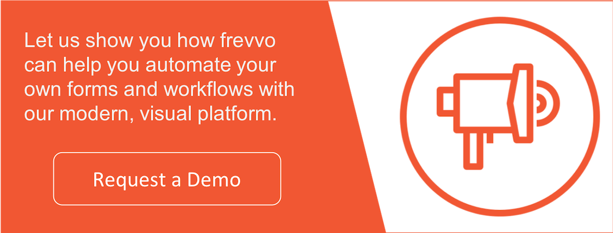 Get started with frevvo's workflow automation software