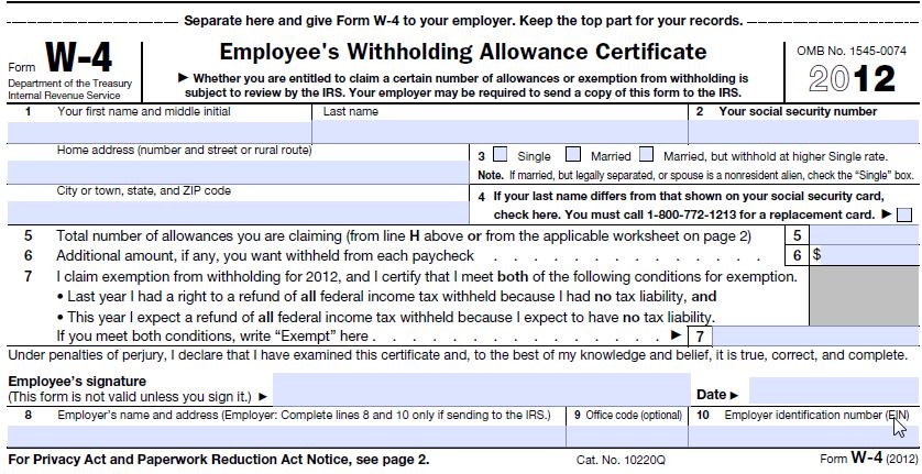 generate federal w4 pdf - frevvo blog