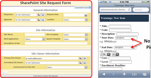 infopath replacement    sharepoint alternative